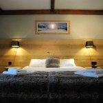 Chambre Double côté Mont-Blanc