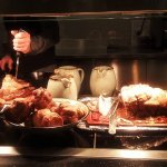 Just some of the carvery food.