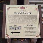 Palace tours Monday through Saturday....