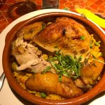 Arroz con Pollo (rice and chicken)