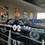 Old Black Race Car