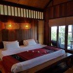 Schlafbereich mit direktem Meerblick vom Bett