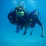AJ and Me enjoying diving.