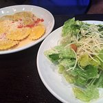Lobster Ravioli and Cesar Salad - Dinner Portion