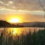 Wilderness Lagoon at sunset
