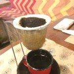Sensacional cafezinho de coador, Tirado na mesa!!! Hummmm