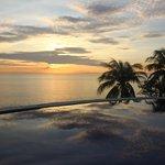 Sunset Over Infinity Pool at Toyabali