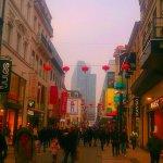 Разноцветный мир Rue Neuve.