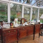 Gleann Fia - The conservatory, and goodies for the guests
