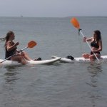 sit down paddle boards