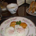 Smoked haddock & poached eggs