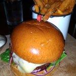 McGills: Spicy Falafel Burger.
