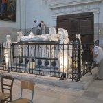 Vue du tombeau