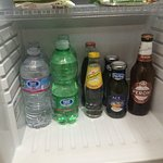 Mini bar - first contents are free