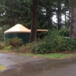 Yurts available for advance booking