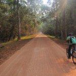 Pleasant quiet roads in between the popular temples