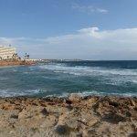 Hotel overlooking La Zenia beach