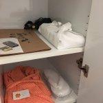 Closet, with Amenity Kit