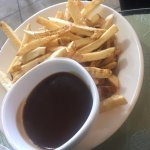 Order of french fries and gravy, Trees Restaurant 1385 Alberni Hwy, Parksville, British Columbia