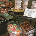 Gluten free cookies, tarts, Himalayan salt, Trees Restaurant 1385 Alberni Hwy, Parksville, Briti