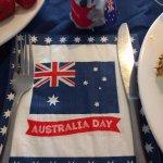 Australia Day decor!