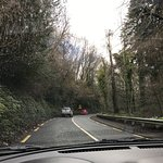 The road toward Enniskerry and Powerscourt