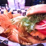 We ❤️ the Waterfront Bar & Grill, their food is always delicious. Burgers are our faves, and win