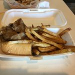 Italian beef with fries