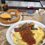 OMG! Best brunch ever, anywhere! The meat lovers omelet is simply AMAZING! Great coffee too! Can