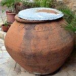 terracotta wine urn