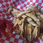 cut fries were really good