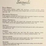 Bellissimo menu...
