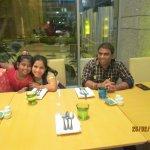 KP and Usha with Diya