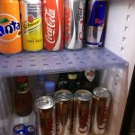 I asked for diet coke so they stocked it well!