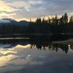 Sunset, Spider Lake Provincial Park,., Qualicum Beach, BC
