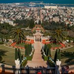 Access to Bahai Garden in less than 500 meters.