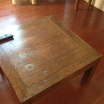 Coffee table in bad shape