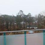 Aussicht in Richtung Ostsee und.Promenade und auf das Salzbad