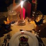 Cena a tema e a lume di candela