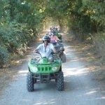 une randonnée en quad en Camargue
