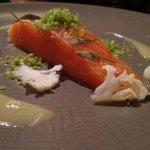 Confit Irish Salmon.