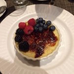 Outstanding creme brulee