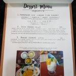 page2 - dessert menu