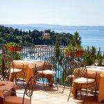 Terrazza del ristorante - Restaurant terrace