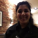 Our lovely waitress Anjali