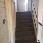 One of several sets of narrow stairs on the way to our 3rd floor room. No elevator access.