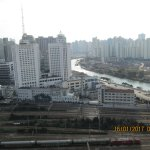 Train station and Suzhou Creek