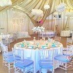 Свадебный банкет в шатре Paradise