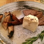 Grilled Pears with Aged ricotta appetizer