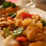 Close up of our Hong Kong Style Chicken